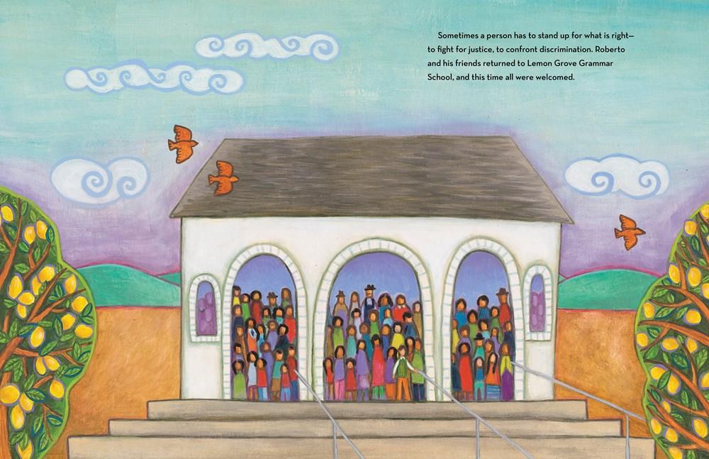 Without Separation: Prejudice, Segregation, and the Case of Roberto Alvarez  by Larry Dane Brimner and Maya Gonzalez